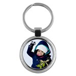 keychain - love - Key Chain (Round)