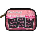 Families are like fudge - Pink - Digital Camera Leather Case