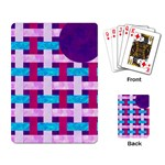 Playing Card Weave - Playing Cards Single Design (Rectangle)