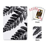 Playing Fern 1 - Playing Cards Single Design (Rectangle)