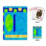Playing Card Retro Color - Playing Cards Single Design (Rectangle)