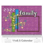 2019 A year in review - 11x8.5 calendar - Wall Calendar 11  x 8.5  (12-Months)
