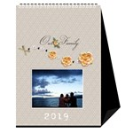 Desktop Calendar 6  x 8.5 : Our Family