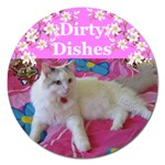 heathers dirty dishes 2 - Magnet 5  (Round)