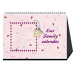Our Family desktop calendar - Desktop Calendar 8.5  x 6