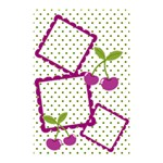 Cherry shower curtain 01 - Shower Curtain 48  x 72  (Small)