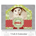 every year 2015 - Wall Calendar 11  x 8.5  (12-Months)