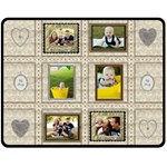 My Family Medium Fleece Blanket - Fleece Blanket (Medium)