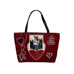 Red Hot Classic Shoulder Handbag
