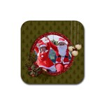 Coaster: Christmas2 - Rubber Coaster (Square)