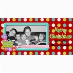 Holiday card 2 - 4  x 8  Photo Cards