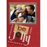Be Jolly 5x7 Christmas Card - Greeting Card 5  x 7