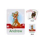 mini playing cards stocking stuffer gift rudolph - Playing Cards Single Design (Mini)