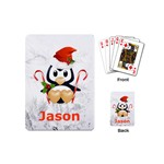 mini playing cards stocking stuffer gift penguin - Playing Cards Single Design (Mini)
