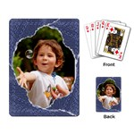 Torn Jeans Playing Cards - Playing Cards Single Design