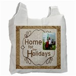 Home for the Holidays Double Sided Recycle bag - Recycle Bag (Two Side)