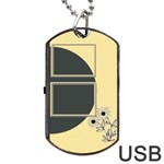 Sunflower dogtag usb - Dog Tag USB Flash (One Side)
