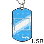 My Baby Boy dogtag usb 1s - Dog Tag USB Flash (One Side)