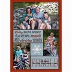 3-photo Family Christmas Card - 5  x 7  Photo Cards