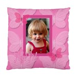tickled pink pillow - Standard Cushion Case (One Side)
