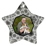 You re a Star Monochrome Double Sided Star Ornament - Star Ornament (Two Sides)