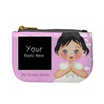 My Rosary Beads Black Hair - Mini Coin Purse