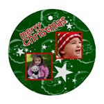 Christmas Collection  - Ornament (Round)