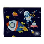 Rocket Man Extra Large Cosmetic Gift Bag - Cosmetic Bag (XL)