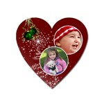 Christmas Collection  - Magnet (Heart)