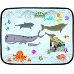 Marina Under the Sea Mini Fleece Blanket - Fleece Blanket (Mini)