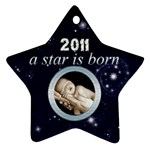 A Star is born 2011 Star Ornament - Ornament (Star)