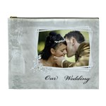 Our Wedding (XL) Cosmetic Bag - Cosmetic Bag (XL)