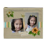 XL Cosmetic Bag: Cherished  - Cosmetic Bag (XL)
