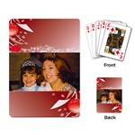 queen and princess cards - Playing Cards Single Design