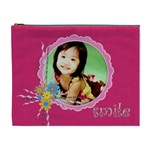 flower faith - 2 - Cosmetic Bag (XL)