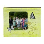 Spring Fling Extra large Cosmetic Bag - Cosmetic Bag (XL)