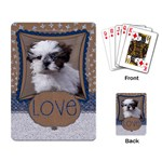 Craft & Glitter/love-playing cards - Playing Cards Single Design (Rectangle)