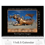 Burning Man People 2012 - Wall Calendar 11  x 8.5  (12-Months)