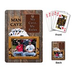 Man Cave Playing Cards - Playing Cards Single Design (Rectangle)