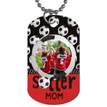 Soccer- dog tag (2 sides) - Dog Tag (Two Sides)
