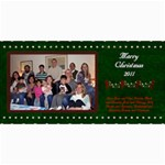 2011 Short xmas card - version 4 - 4  x 8  Photo Cards