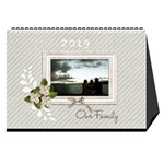 Desktop Calendar 8.5  x 6 : Our Family