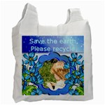 Save the earth recycle bag - Recycle Bag (One Side)