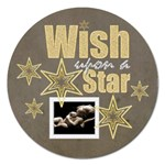 Wish Upon a Star 5 inch Magnet - Magnet 5  (Round)