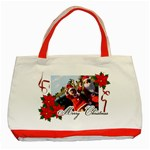 Classic Tote Bag (Red): Merry Christmas