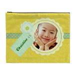 Happy Yellow Cosmetic Bag XL - Cosmetic Bag (XL)