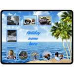 Seaside (XL) fleece - Fleece Blanket (Large)