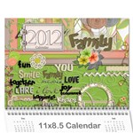 Parents Calendar - Wall Calendar 11  x 8.5  (12-Months)