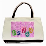 ps748 tote - Basic Tote Bag (Two Sides)