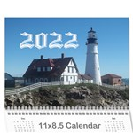 2019 all occassion calendar - Wall Calendar 11  x 8.5  (12-Months)